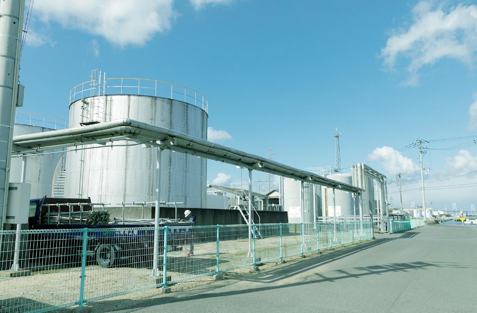 塩業跡地を活用した、不動産賃貸業を主業務とした会社 日本化学塩業株式会社